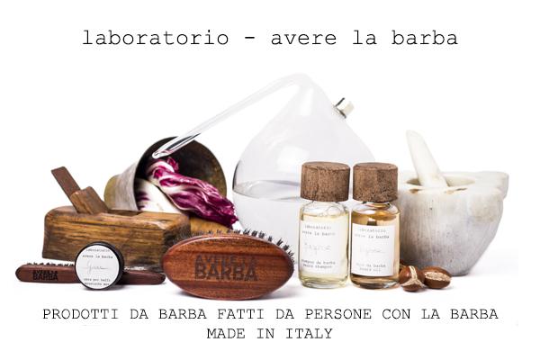 laboratorio avere la barba