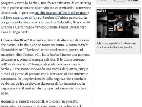 Corriere del Veneto 12 aprile 2013
