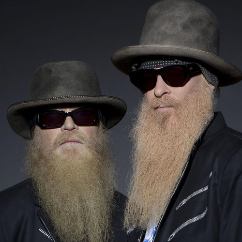 la barba degli ZZ top