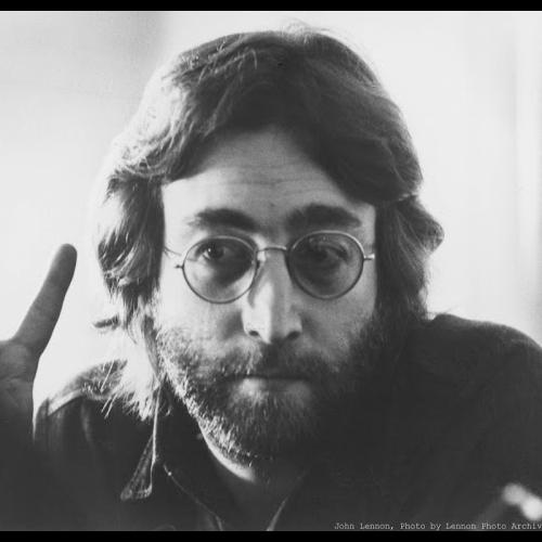 la barba di john lennon